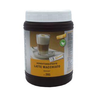 Flavour Paste, Latte Macchiato, Natural Flavour, Baking Stable, 1kg