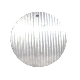 แผ่นรองเค้กอลูมิเนียม ขนาด 24x0.1 เซนติเมตร