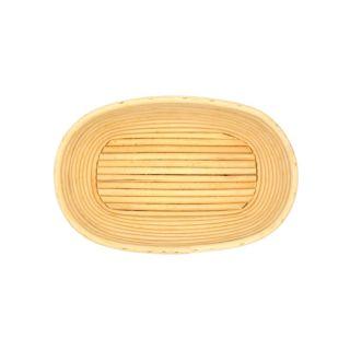 Bread Proofing Basket, Rattan, Oval, 1kg, 9.5x26cm