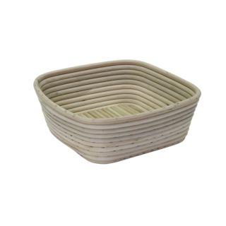 Bread Proofing Basket, Rattan, Square, 1kg, 8x22x22cm