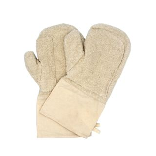 Baking Gloves, With Short Cuffs, Cotton, 34x16cm