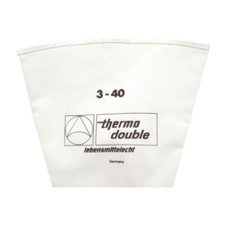 Piping Bag, Double, Cotton, 400mm, 1 Star Tube