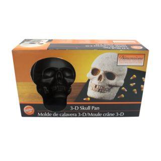 Cake Pan, 3D Skull, Non-Stick, 16 x 14 x 19 cm