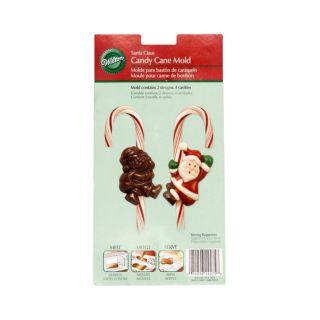 Candy Cane Mould, Santa Claus