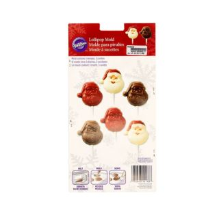 Lollipop Mould, Santa