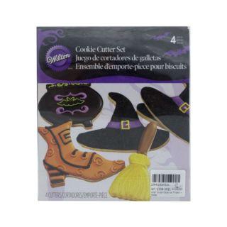 Cookie Cutter Set, Witch, 4 pcs