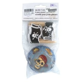 Cupcakes Liners & Flags, Pirate, 24 pcs