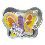 Cake Pan, Butterfly, Aluminum, 28x21x5 cm